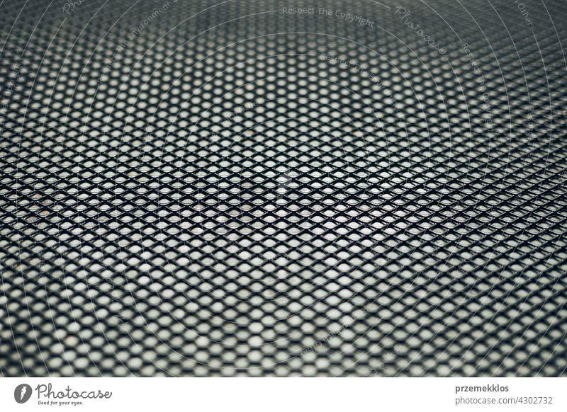 Metallischer Hintergrund. Dirty Grunge Stahl Oberfläche. Eisen schmutzig Masche. Abstrakt mettalic Blatt Hardware bügeln alt verwendet schwer Werkstatt hart