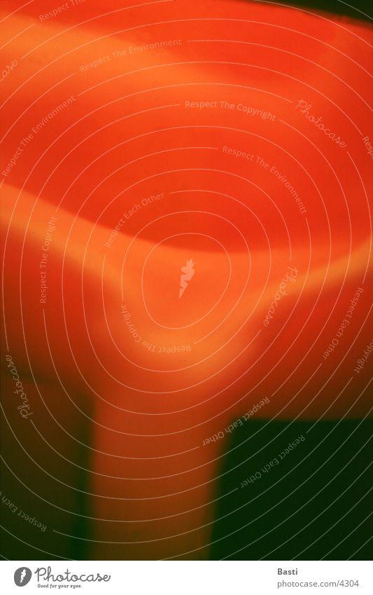 Lavalampe rot Lampe Bewegung Flüssigkeit Fototechnik
