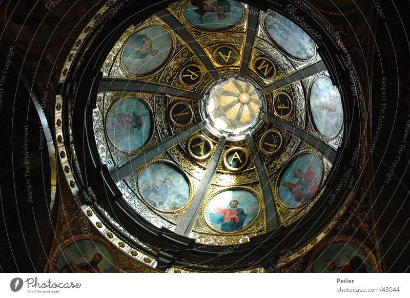 Ave Maria... Religion & Glaube Gebet Decke Kuppeldach Gotteshäuser Ave Maria Deckengemälde