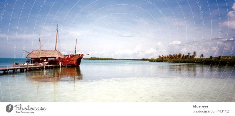 Bacardi Feeling in Mexico Meer Ferien & Urlaub & Reisen Wasserfahrzeug Idylle Kuba Südamerika Mexiko