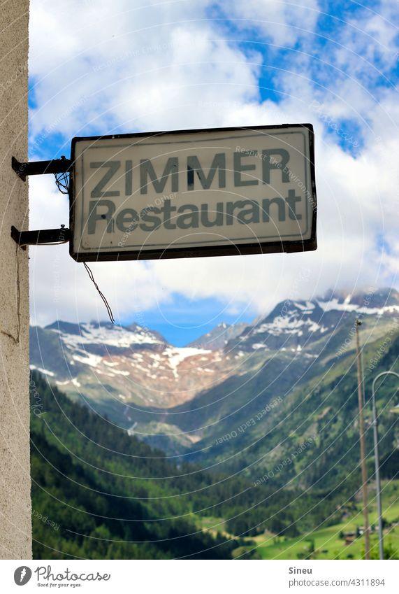 Zimmer frei Zimmer mit Ausblick Hotelrestaurant Unterkunft Pension Landgasthof Übernachtung Essen Restaurant Reisen Verreisen Ferien Urlaub