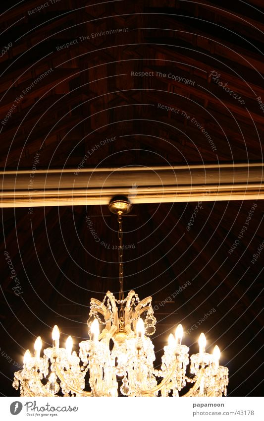 chandelier Kronleuchter Leuchter Licht hängen Kristallstrukturen Glas Reflexion & Spiegelung Lüster