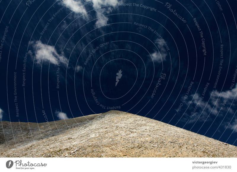 Felsiger Berggipfel Trekking Ferien & Urlaub & Reisen Tourismus Ausflug Abenteuer Ferne Freiheit Sightseeing Expedition Sommer Sonne Berge u. Gebirge wandern