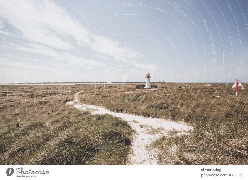 northern landscape Himmel Natur Ferien & Urlaub & Reisen Erholung Einsamkeit ruhig Landschaft Wolken Gras Wege & Pfade Küste Sand Horizont Wind Idylle wandern