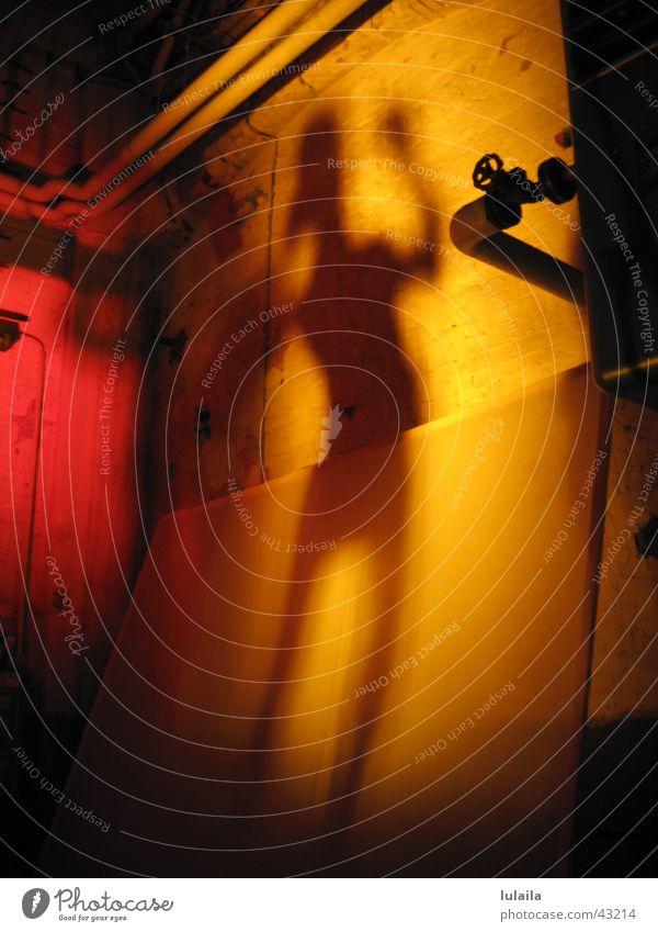 SchattenTänzer Bewegung Tanzen orange Konzert Filter Schattenspiel Fototechnik Denver