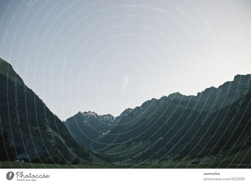 Berge Ferien & Urlaub & Reisen Tourismus Ausflug Abenteuer Ferne Freiheit Berge u. Gebirge wandern Umwelt Natur Landschaft Hügel Felsen Alpen Gipfel