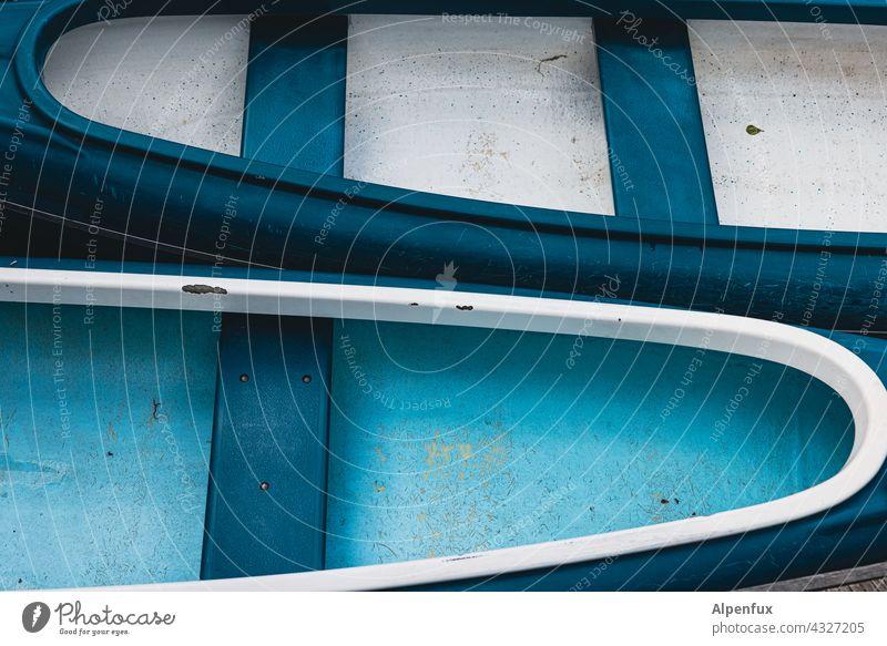 Zweier ohne Steuermann   Parktour HH 21 Kanu Boot Wasser Natur Fluss See Sommer Paddel im Freien Tourismus Erholung Aktivität Kajak Abenteuer leer Ruderboot