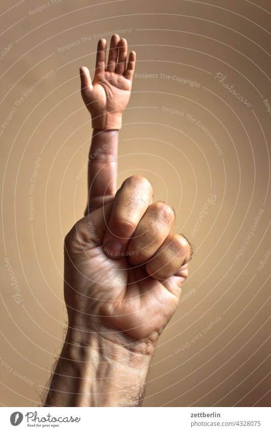 Finger zeigefinger kleiner Ringfinger