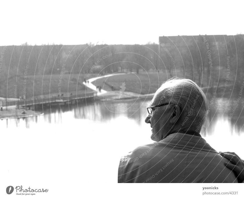 Der Alte Mann und der See Mensch alt
