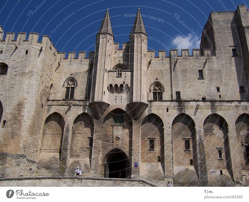 Papstpalast in Avignon Frankreich Religion & Glaube Palast Gotteshäuser Päpste Südfrankreich Palais du Pape