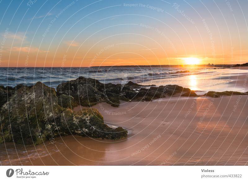 ...summertime blues Ferien & Urlaub & Reisen Tourismus Freiheit Sommer Sommerurlaub Sonne Sonnenbad Strand Meer Wellen Landschaft Sonnenfinsternis Sonnenaufgang