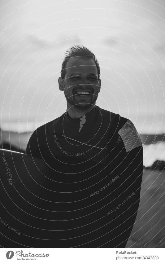 #AS# Surfing makes Happy Surfen Surfer Surfbrett Surfschule Surfers Paradise Board Fuerteventura Kanarische Inseln Wassersport Extremsport Meer Wellen Strand
