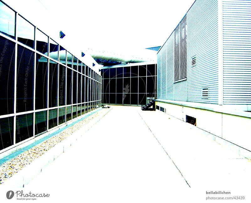 Fluchtweg Einsamkeit Wege & Pfade Architektur Frankfurt am Main