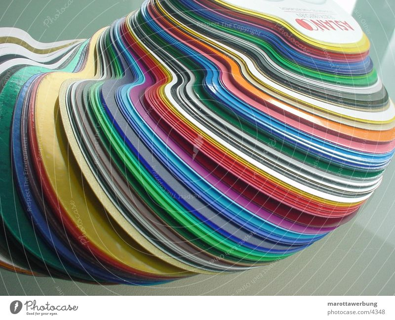 folienfächer Folie Fächer Industrie Farbe
