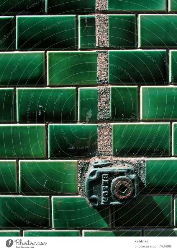 Kein Anschluss grün Ventil Häusliches Leben Fliesen u. Kacheln Gas Komfort Wärme
