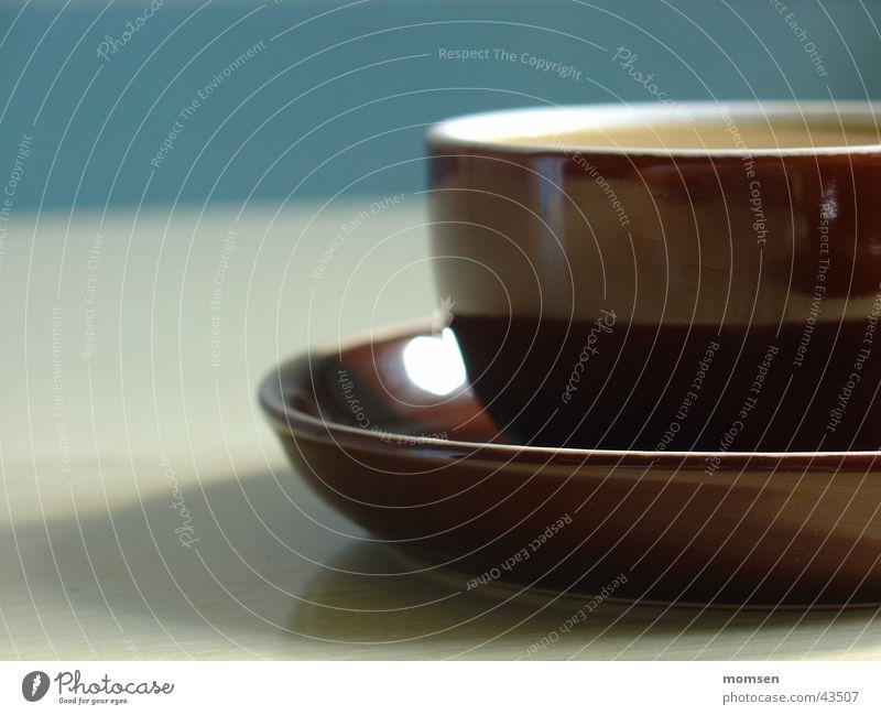 Espresso mit Anja 2 Sonne Sommer Wand Tisch Getränk Küche Tasse gemütlich Kaffee
