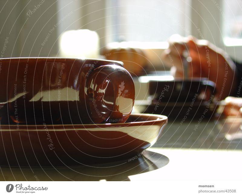 Espresso with Anja Honey Sonne Sommer Fenster Tisch Küche Kaffee Tasse gemütlich Tragegriff