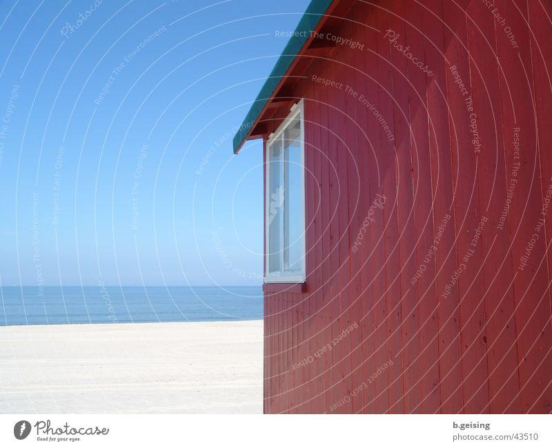 Meeresblick Strand Sylt Strandhaus Europa Deutschland