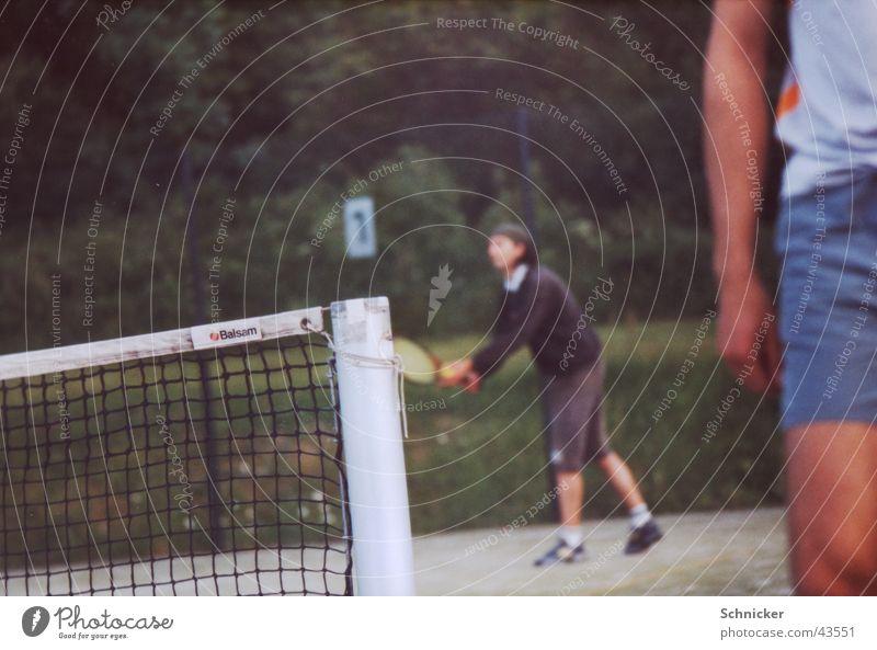 Tennisnetz Spielen Sport Netz