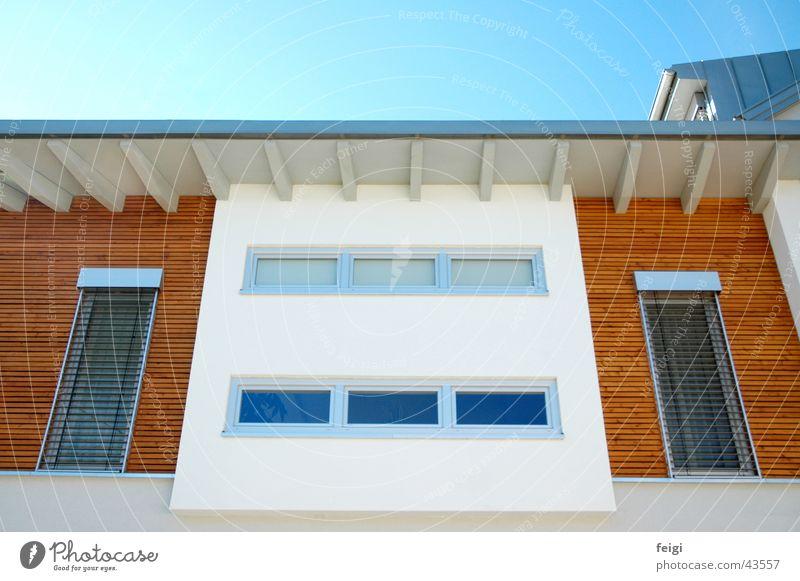Sym Fenster Holz hell Architektur