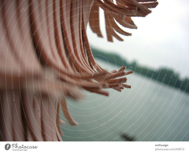 Medusa am Maschsee Wasser obskur Leder Tasche Franse