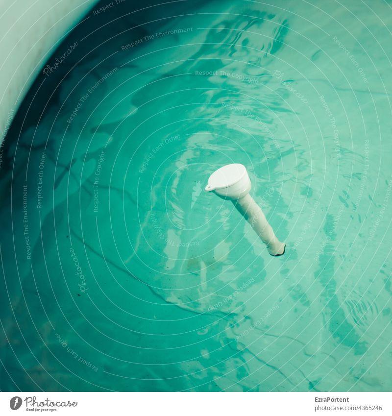 Poolthermometer Thermometer Wasser Sommer baden blau Schwimmen & Baden nass Erfrischung Kühlung Ferien & Urlaub & Reisen Erholung