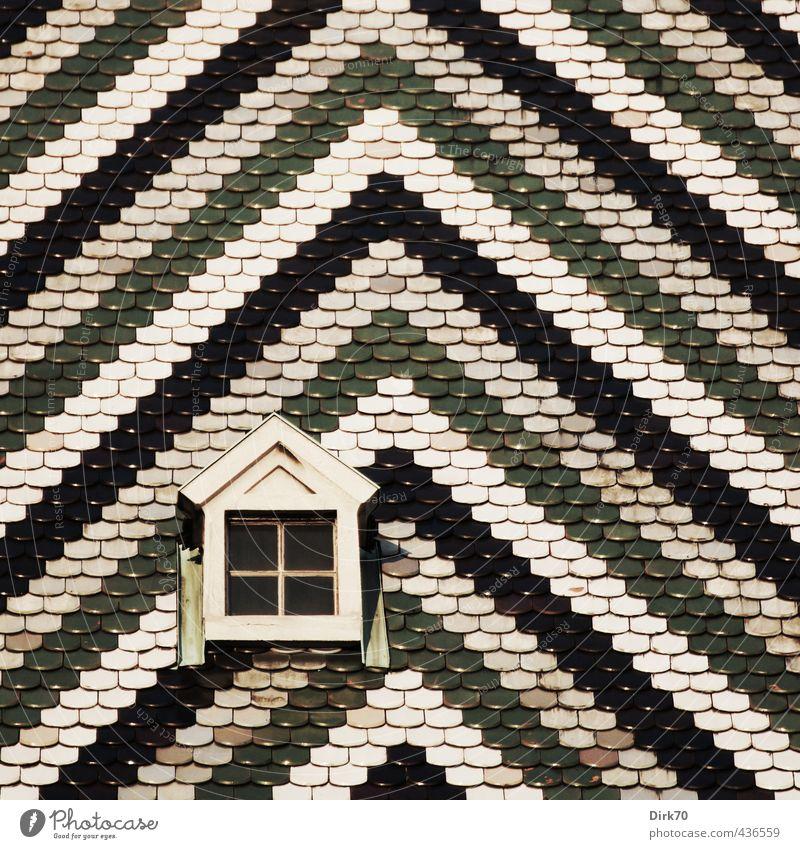 Deck dein Dach dynamischer! Ferien & Urlaub & Reisen grün weiß schwarz Architektur grau hell glänzend ästhetisch Kirche Klarheit Wahrzeichen Sehenswürdigkeit