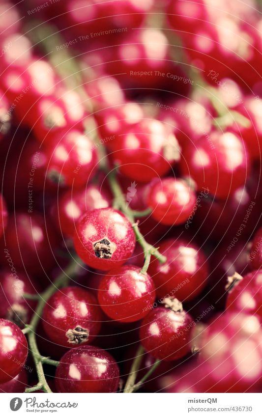 Johannisbeerrot. Lebensmittel ästhetisch Zufriedenheit Johannisbeeren Beeren viele Ernte Frucht Gesundheit Gesunde Ernährung vitaminreich Vegetarische Ernährung