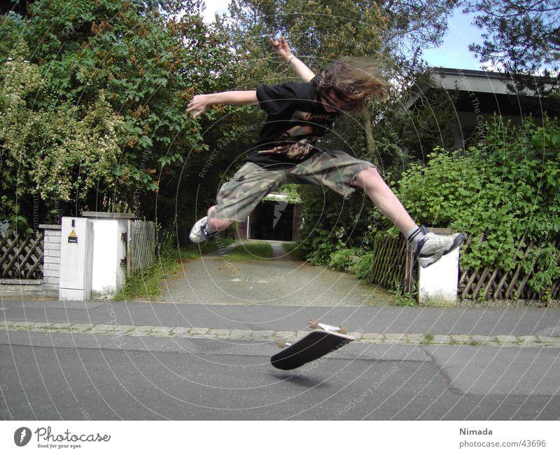 Skater Jugendliche Freude Sport Aktion Skateboarding