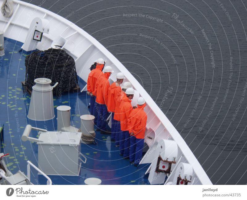 Abschied Meer Farbe Menschengruppe See Wasserfahrzeug Graffiti Schifffahrt Seemann