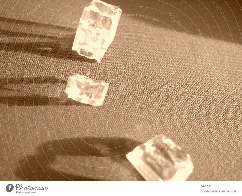 glasSstones Glas Dinge Teile u. Stücke Sepia Scherbe dreidimensional