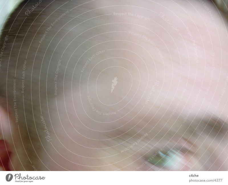 flucht Mensch Gesicht Auge Flucht Verzerrung