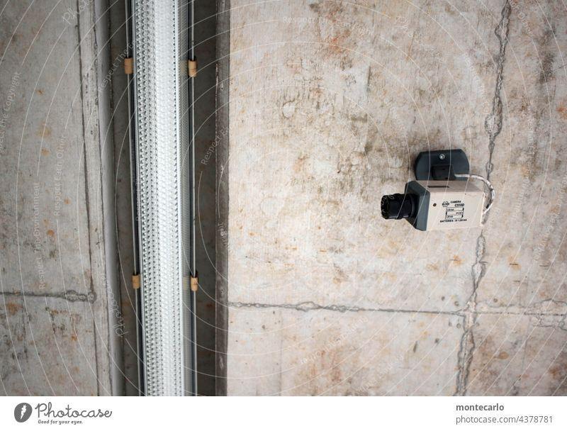 Ordnung im Chaos | Überwachung Überwachungsgerät Misstrauen Sicherheit überwachen Beobachtung beobachten Schutz Wachsamkeit Technik Videoüberwachung Kontrolle