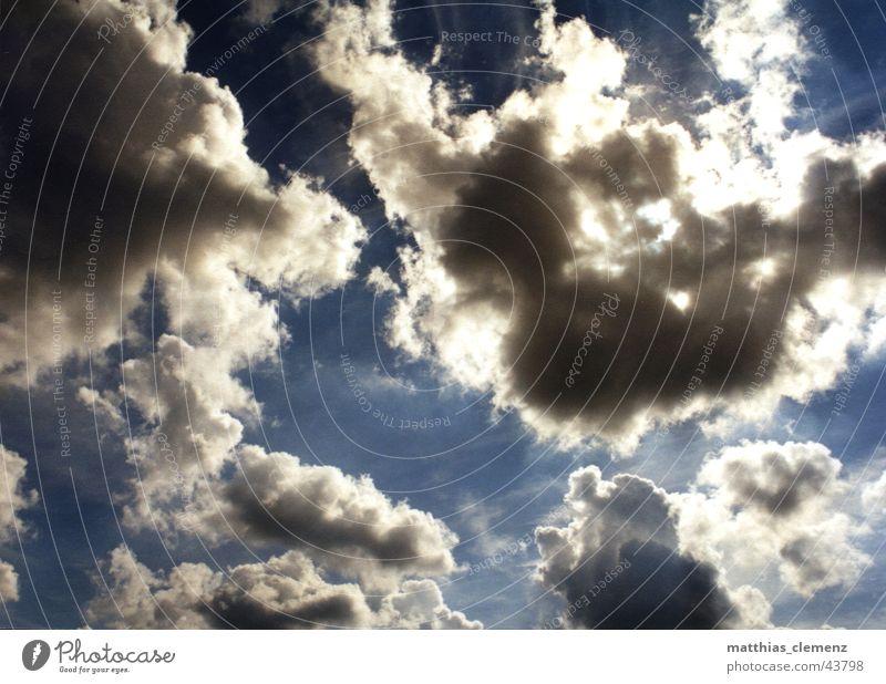 Heaven Wolken ruhig rein Ferne traumhaft Lichtspiel Schweben Himmel Wind Aussehen nah Freiheit frei