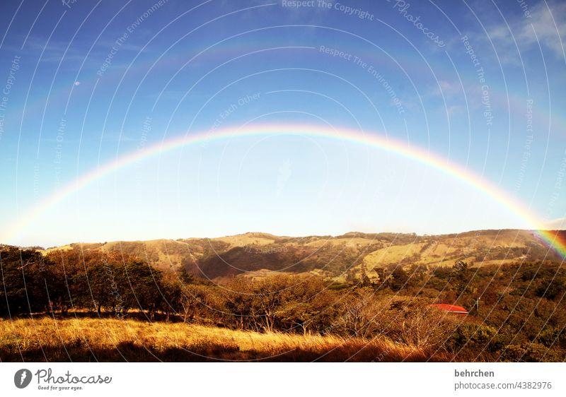 *2 4 0 0* voll viel glück:) Regenbogen Urwald Fernweh Kontrast schön Ferne Freiheit Tourismus Ferien & Urlaub & Reisen Ausflug Abenteuer Costa Rica