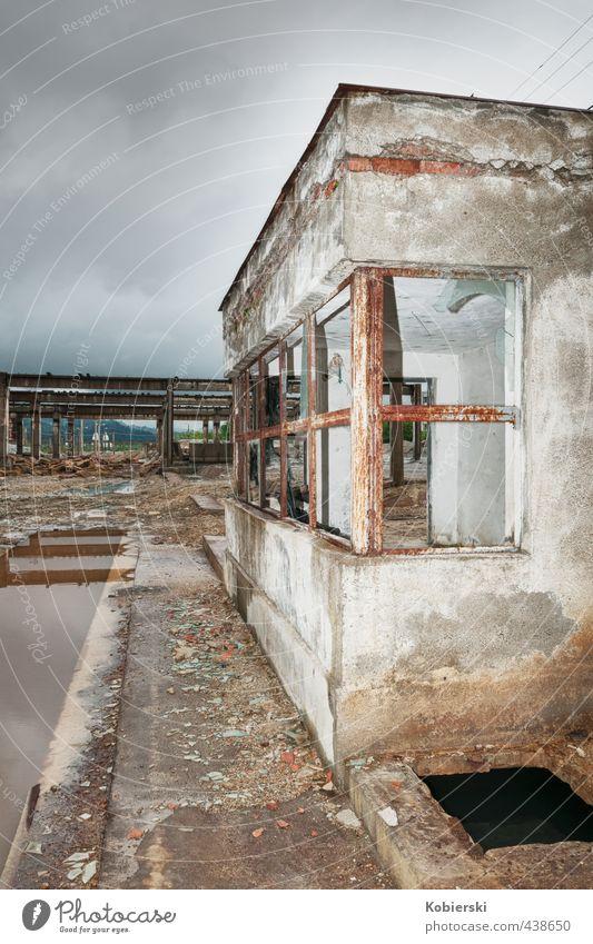Baja Mare alt rot Einsamkeit Umwelt Architektur braun Energiewirtschaft Beton kaputt bedrohlich Industrie Fabrik Rost Stahl bizarr Umweltschutz