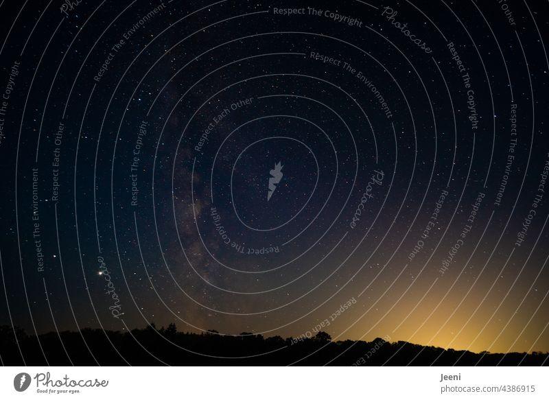Sternenhaufen * 500 * Sternenstaub Sternenhimmel sternenklar Sternenzelt Sternbild Milchstrasse Milchstraße Nacht Nachthimmel Himmel Langzeitbelichtung