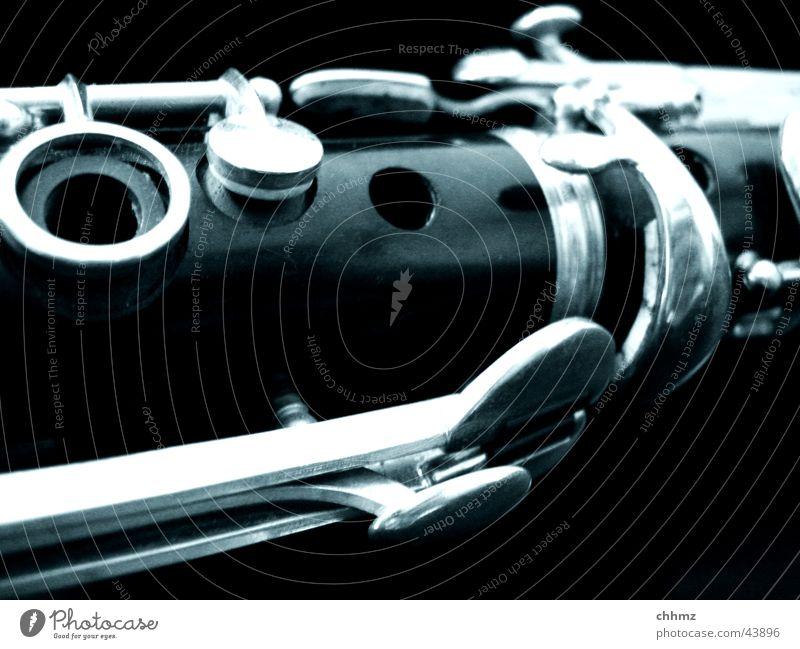 Klarinette Jazz Klezmer Holz Holzblasinstrumente Ton Musik Holzmehl Musiknoten Konzert schwarz Musikinstrument Detailaufnahme blasen clarinet woodwind Oper