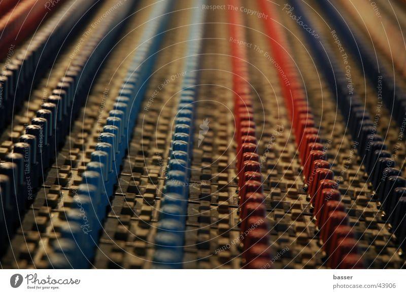Mischpult Technik & Technologie Konzert Schnur Veranstaltung Ton Musikmischpult Elektrisches Gerät