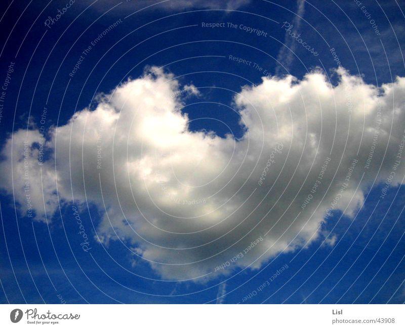 herz schön Himmel Wolken träumen Herz frei