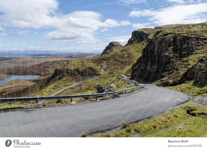 das Herz von Trotternish Ferien & Urlaub & Reisen Ausflug Ferne Freiheit Natur Landschaft Berge u. Gebirge Isle of Skye Schottland Großbritannien