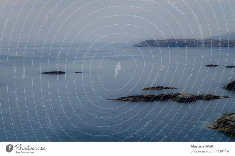 einfach Meer Natur Landschaft Wasser Küste Atlantik Schottland Großbritannien Isle of Scalpay Äußere Hebriden Europa Ferien & Urlaub & Reisen träumen Fernweh