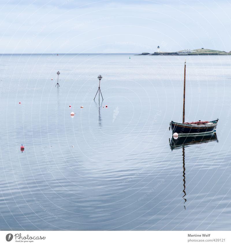 lonely harbour Ferien & Urlaub & Reisen Ausflug Natur Landschaft Wasser Meer Atlantik Stornoway Schottland Großbritannien Äußere Hebriden Isle of Lewis Europa
