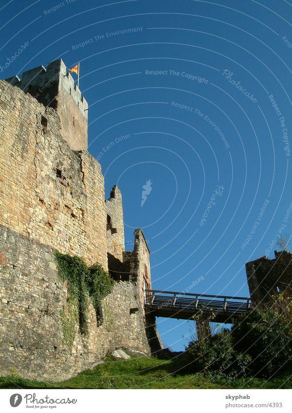Burg Rötteln 1 Architektur Brücke Ruine