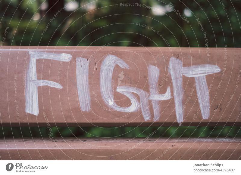 Kämpfe für das Gute. Aktivismus fight kämpfen Kampfsport Demonstration Protest Demokratie Wahl protestieren Politik & Staat Wut Meinung Kraft Meinungsfreiheit