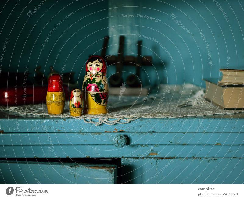 Matrjoschka Haus Erwachsene Senior Spielen Innenarchitektur Holz Familie & Verwandtschaft Raum Idylle Häusliches Leben Design Dekoration & Verzierung