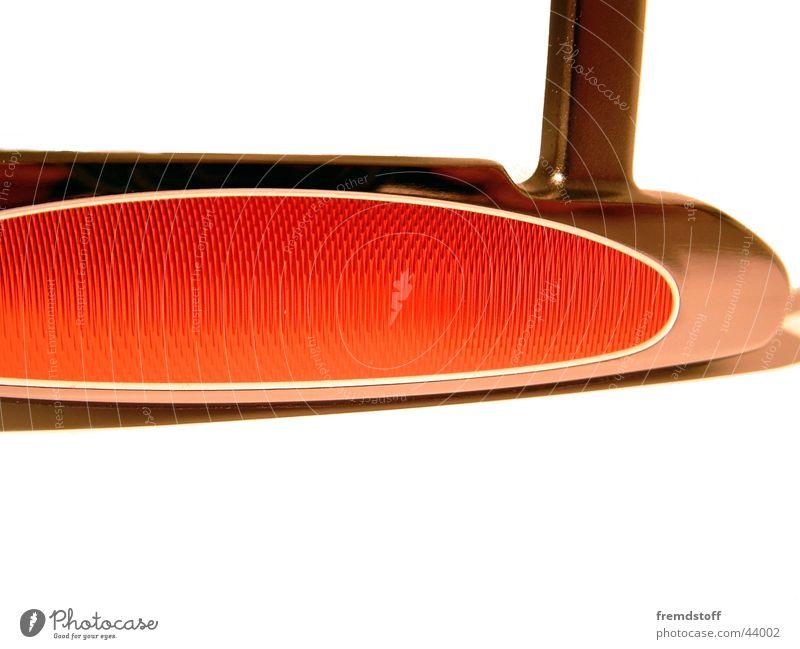 Daytona1 Design Golf Bildausschnitt Anschnitt Objektfotografie Golfschläger Vor hellem Hintergrund