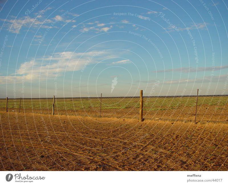 Dog Fence Australien Hundezaun Zaun Wüste Coober Peedy