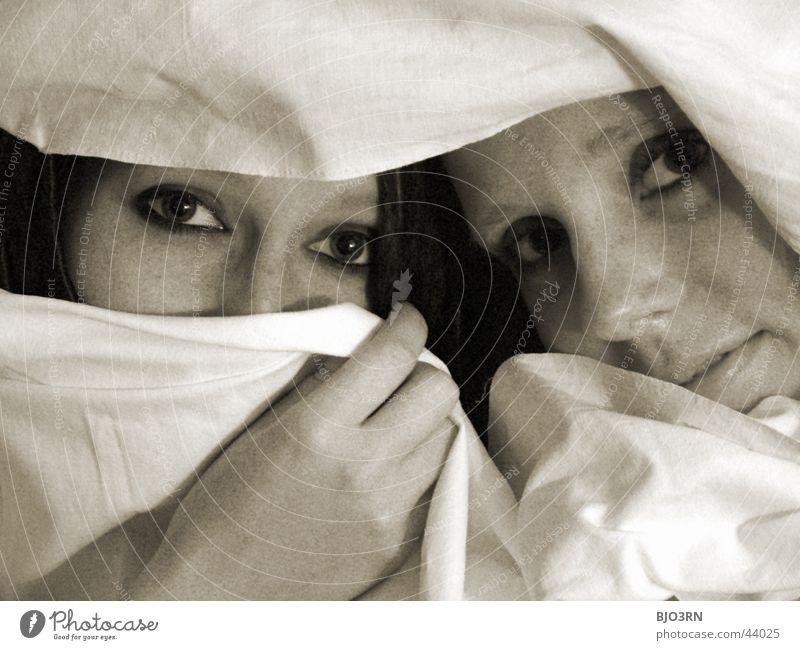eyes - augen Frau Hand schön Gesicht Auge Spielen Schüchternheit Tuch