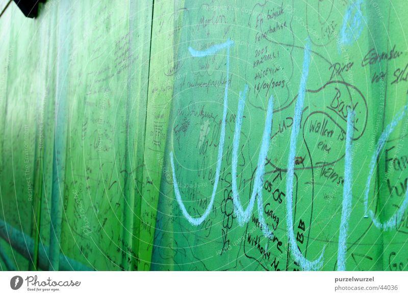 Verewigt Leverkusen Wand Liebeserklärung verewigt Ausstellung Messe Landesgartenschau Schriftzeichen